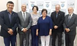 Presidente Tieza participa de encontro das Escolas do Legislativo