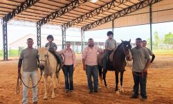 Complexo Equestre de Araçatuba passa a ser utilizado por praticantes de equoterapia
