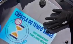 Um ano após lacrar a Cápsula do Tempo, SAMAR divulga ações realizadas para preservar o meio ambiente.