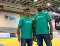 Douglas Potrich e Marcus Agostinho vão a Blumenau observar o judô nos Jogos Escolares da Juventude