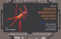 Cia. Cênica promove Workshop de Técnicas Acrobáticas Circenses