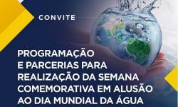 Participe da reunião que irá definir as atividades do Dia Mundial da Água