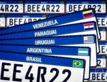 Placa Mercosul já está disponíveis em todo o Brasil