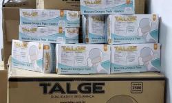 Empresa paulistana doa 7.600 máscaras cirúrgicas à Santa Casa de Araçatuba, através da Fehosp e CMB