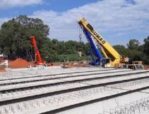 Secretário de Obras fez vistoria na construção da ponte dupla do bairro Cidade Jardim