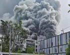 Incêndio destrói laboratório da Huawei em Dongguan, na China