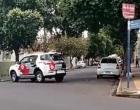 Após perseguição no centro de Araçatuba, suspeito é preso pela Rocam