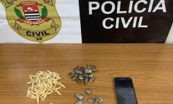 GOE/Deic prende casal com drogas no Águas Claras