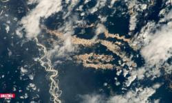 Rios de ouro: imagem chocante da NASA revela garimpo ilegal na Amazônia