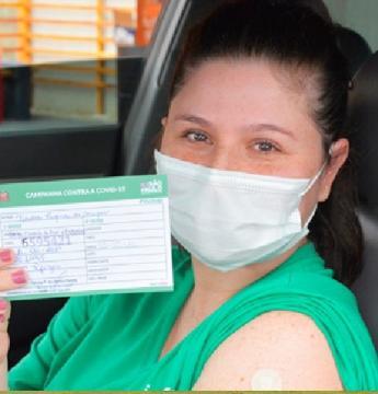 Mais de 710 profissionais da Educação de 18 a 44 anos já foram imunizados contra a covid-19