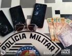 Adolescentes infratores são apreendidos com celulares furtados