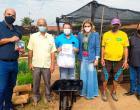 Prefeitura lança projeto Hortas + Produtivas com entrega de kits para as hortas comunitárias