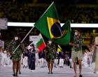 Olimpíada de Tóquio 2020: as imagens da abertura dos Jogos