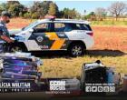 Polícia intercepta ônibus e três passageiros terminam presos por contrabando de cigarros vindo do Paraguai