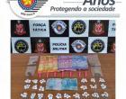 Força Tática prende rapaz com maconha, crack e dinheiro no bairro Águas Claras