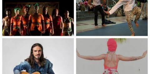Espetáculos de Dança e Circo e shows musicais movimentam programação do feriado e fim de semana