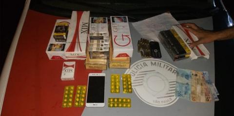 Homem é preso por receptação, posse irregular de munição, contrabando e resistência em Araçatuba