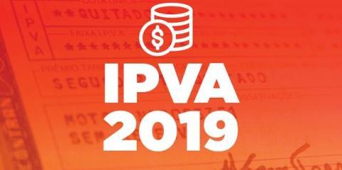 GUIA DO IPVA 2019: DATAS E VALORES
