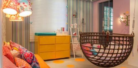 Decoração econômica no quarto da criança