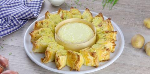 A festa já pode começar: receita de petiscos de queijo com batata e cream cheese