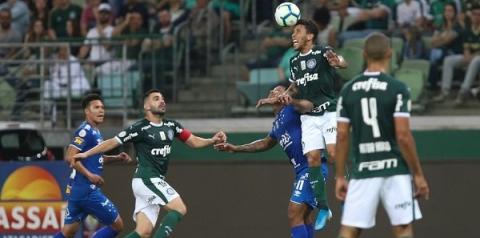 Palmeiras vence o Cruzeiro e sobe para a vice-liderança do Brasileirão