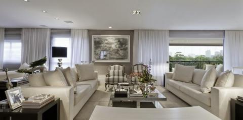 Acessórios valorizando a decoração da sua casa