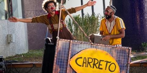 Trupe DuNavô apresenta Irmãos Carreto em evento especial de aniversário da Lapa