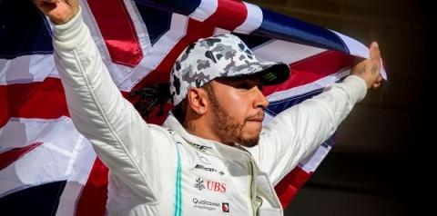 Hamilton prega sustentabilidade na F1 e quer ampliar