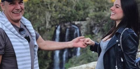 Pai de Isis Valverde morre aos 65 anos em trilha de moto
