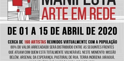 Manifesta Arte em Rede promove programação cultural on-line durante quinze dias