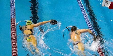 Após quarentena no Equador, nadadores paralímpicos chegam ao Brasil