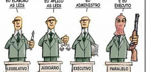 Enquanto isso a justiça no Brasil