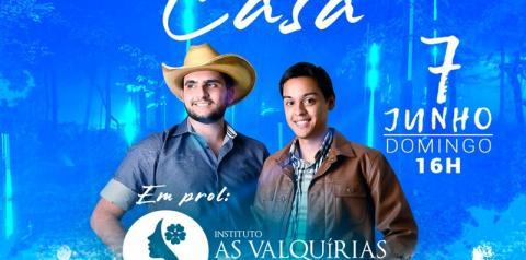 Dupla sertaneja rio-pretense João Pedro e Alessandro realiza live neste domingo