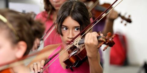 Projeto Guri promove iniciação musical infanto-juvenil e vai além