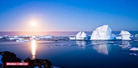 Polo Sul está esquentando três vezes mais rápido do que o resto do mundo, diz estudo