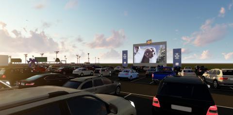 Drive-in Cine Paradiso é a nova atração da região de Araçatuba