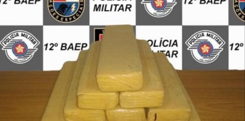Pedreiro é preso com 10 quilos de maconha em rodoviária de Araçatuba