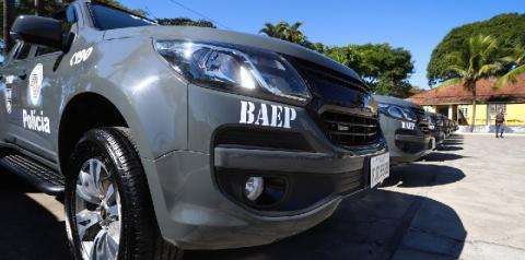 BAEP prende desempregado com arma de fogo no bairro Clóvis Picolotto