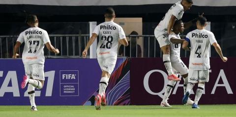 Libertadores: Santos se recupera e vence a primeira na fase de grupos