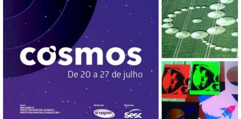 Cosmos 2018 discute astronomia e ufologia no Sesc Birigui de 20 a 27 de julho