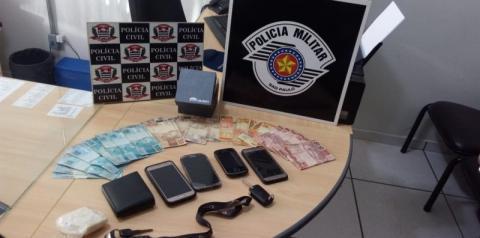 Em operação conjunta da Polícia Militar com a Polícia Civil, homem é preso por tráfico de Drogas em Dracena