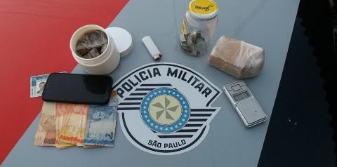 Homem é preso em Flagrante por tráfico de Drogas em Dracena