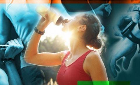 A importância de hidratar-se durante as atividades fisícas