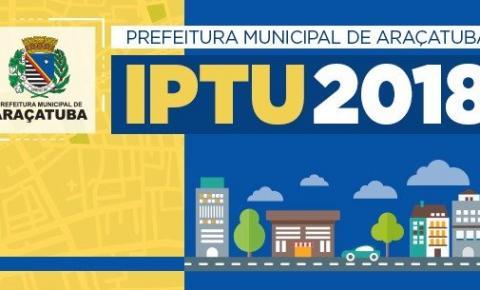 Prefeitura inicia entrega do IPTU 2018