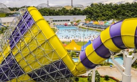 Parques aquáticos são opção de lazer para toda a família no verão