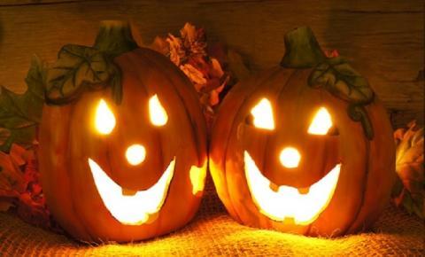 Vista sua casa para o Halloween