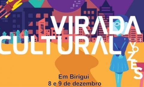 Virada Cultura Paulista acontece dias 8 e 9 de dezembro em Birigui, na Praça Raul Cardoso