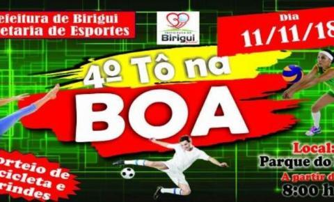 TÔ NA BOA acontece neste domingo, dia 11 de novembro, no Parque do Povo em Birigui