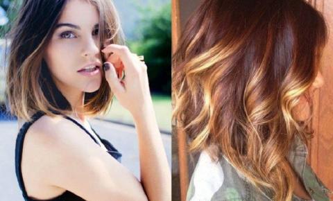 Ombré Hair Colorido: Degradê intenso volta como tendência em 2019