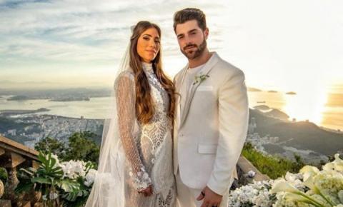 Alok se casa em cerimônia aos pés do Cristo Redentor, no Rio